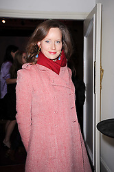Charlotte Asprey at the launch of Heavy Rain for PlayStation 3 held at The Electric Cinema, Portobello Road, London on 15th February 2010.