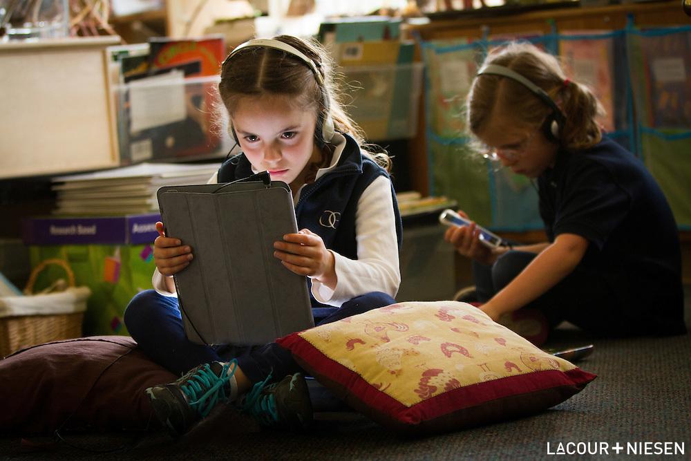 Viewbook project for Oregon Episcopal School, Portland, Ore.