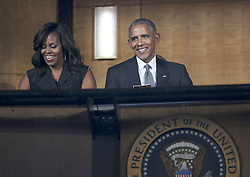 Barack Obama and Michelle Obama beim Empfang im Weissen Haus zur Einweihung des neuen Museums für Afroamerikanische Geschichte und Kultur in Washington <br /> <br /> / 240916<br /> <br /> *** Opening ceremony of the Smithsonian National Museum of African American History and Culture on September 24, 2016 in Washington, DC ***