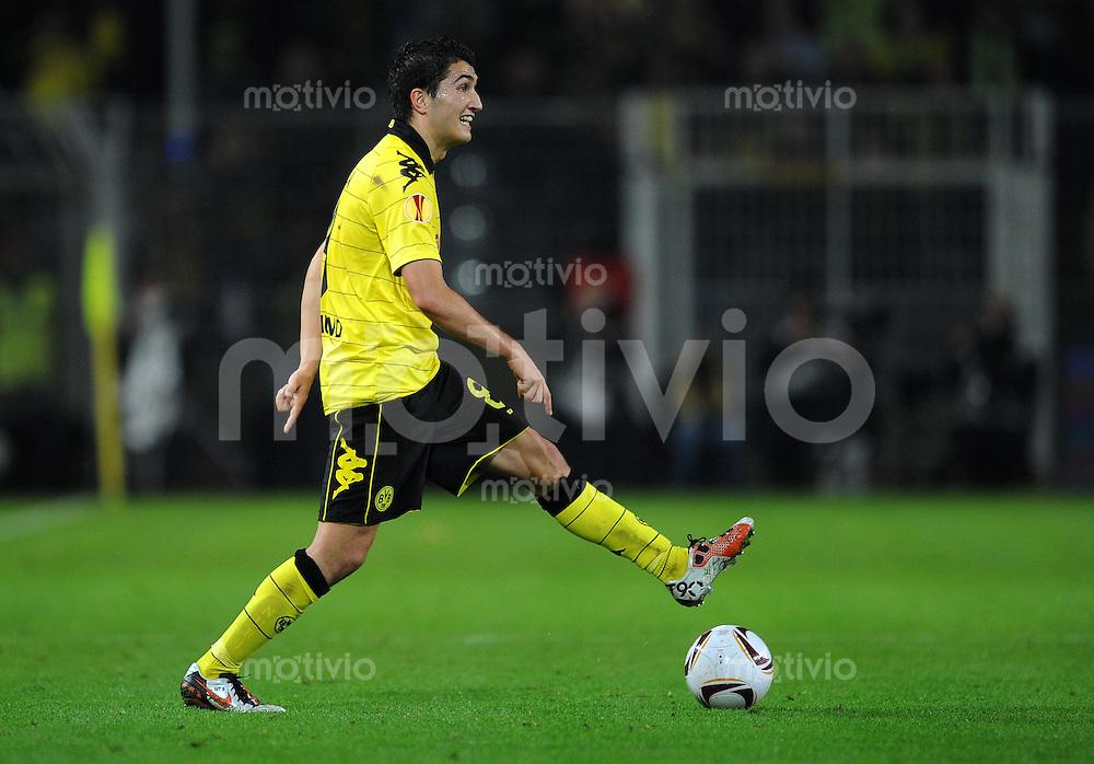 FUSSBALL   EUROPA LEAGUE   SAISON 2010/2011   GRUPPE J Borussia Dortmund - FC Sevilla         30.09.2010 Nuri SAHIN (Borussia Dortmund) Einzelaktion am Ball