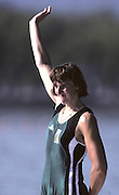 Barcelona Olympics 1992 - Lake Banyoles, SPAIN,  BEL W1X  BREDAEL, Annelies, Photo: Peter Spurrier.       {Mandatory Credit: © Peter Spurrier/Intersport Images]..........       {Mandatory Credit: © Peter Spurrier/Intersport Images].........