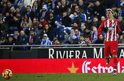 December 22, 2017 - Barcelona, Spain - Antoine Griezmann during the La Liga match between RCD Espanyol and Atletico de Madrid, in Barcelona, on December 22, 2017. Photo: Joan Valls/Urbanandsport/Nurphoto  (Credit Image: © Joan Valls/NurPhoto via ZUMA Press)