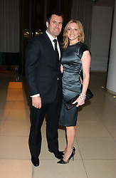 TV sports presenter GABBY LOGAN and her husband rugby player KENNY LOGAN at a Burns Night supper in aid of Clic Sargent & Children's Hospital Association Scotland hosted by Ewan McGregor, Sharleen Spieri and Lady Helen Taylor at St.Martin's Lane Hotel, 45 St Martin's Lane, London on 25th January 2006.<br /><br />NON EXCLUSIVE - WORLD RIGHTS