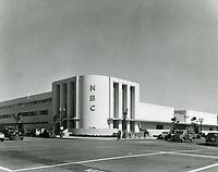 1938 NBC Studios at Sunset Blvd & Vine St