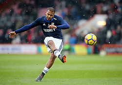 West Bromwich Albion's Salomon Rondon during warm-up before the Premier League match at the Vitality Stadium, Bournemouth.