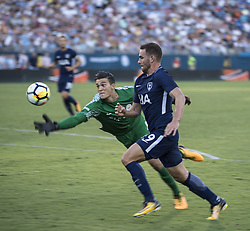July 29, 2017 - Nashville, Tennessee, U.S.A - Manchester City Goalkeeper #49 ARO MURIC saving the ball from goal threat. (Credit Image: © Hoss Mcbain via ZUMA Wire)