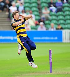 Craig Meschede of Glamorgan in action.  - Mandatory by-line: Alex Davidson/JMP - 24/07/2016 - CRICKET - Cooper Associates County Ground - Taunton, United Kingdom - Somerset v Glamorgan - Royal London One Day