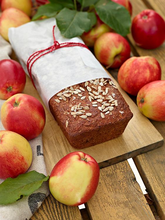 Baka med äpple