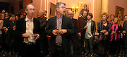 Griff Rhys Jones, Ian McEwan, Dan Franklin, Edna O'Brien, Michael Holroyd,. Book party for Saturday by Ian McEwan, Polish Club, South Kensington.  4 February 2005. ONE TIME USE ONLY - DO NOT ARCHIVE  © Copyright Photograph by Dafydd Jones 66 Stockwell Park Rd. London SW9 0DA Tel 020 7733 0108 www.dafjones.com