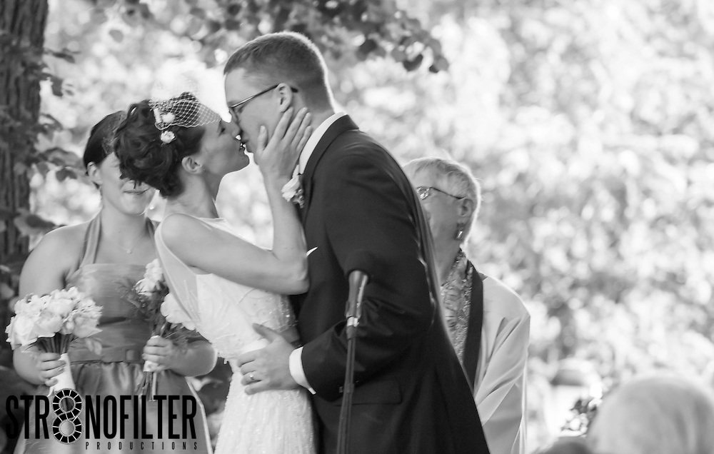 The Kiss that Seals Their Love
