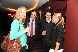 A party to promote the exclusive Puntacana Resort & Club - the Caribbean's Premier Golf & Beach Resort Destination, was held at The Groucho Club, 45 Dean Street London on 12th May 2010.<br /> <br /> Picture shows:-Left to right, MARIELLA RYECART, HUGH MACONOCHIE,  JAMES WATTS and LAUREN SCOTT