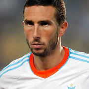 Marseille's Morgan Amalfitano during their UEFA Europa League Group Stage Group C soccer match Fenerbahce between Marseille at Sukru Saracaoglu stadium in Istanbul Turkey on Thursday 20 September 2012. Photo by TURKPIX