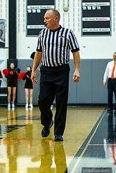 10 January 2020: Boys Basketball game between the Normal Community Ironmen vs Normal West Wildcats in Normal West High School in Normal IL