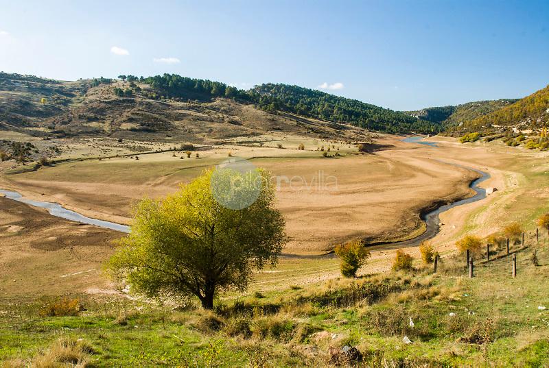 Rio Cuervo en Sta. Maria del Val.Serrania de Cuenca.Cuenca ©Antonio Real Hurtado / PILAR REVILLA