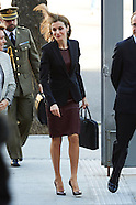022515 Queen Letizia attend a Meeting of the Board on Disability