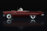 This Ford Thunderbird breathes the American culture that characterizes this time and for or opponents will have in common that there is pure nostalgia of this Ford Thunderbird Convertible from 1957.<br />