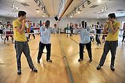 Nederland, Den Bosch, 7-4-2012Bokstraining bij sportschool Olympia.Foto: Flip Franssen/Hollandse Hoogte