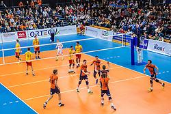 19-02-2017 NED: Bekerfinale Draisma Dynamo - Seesing Personeel Orion, Zwolle<br /> In een uitverkochte Landstede Topsporthal wint Orion met 3-1 de bekerfinale van Dynamo