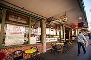 2018 FEBRUARY 12 - The Crumpet Shop, Pike Place Market, Seattle, WA, USA. By Richard Walker