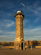 Blackwell Island Lighthouse - Roosevelt Island Lighthouse - Welfare Island Lighthouse is a stone lighthouse built by the government of New York City in 1872.