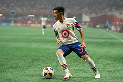 August 1, 2018 - Atlanta, Georgia, United States - MLS All-Star midfielder EZEQUIEL BARCO, 27 (Atlanta United) during the 2018 MLS All-Star Game at Mercedes-Benz Stadium in Atlanta, Georgia.  Juventus F.C. defeats  MLS All-Stars defeat  1 to 1  (Credit Image: © Mark Smith via ZUMA Wire)