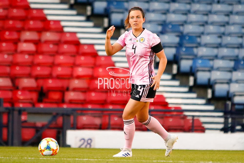 Rachel CORSIE (Utah Royals FC (USA)) of Scotland during the International Friendly match between Scotland Women and Jamaica Women at Hampden Park, Glasgow, United Kingdom on 28 May 2019.