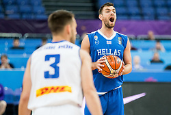 Evangelos Mantzaris of Greece during basketball match between National Teams of Greece and Iceland at Day 1 of the FIBA EuroBasket 2017 at Hartwall Arena in Helsinki, Finland on August 31, 2017. Photo by Vid Ponikvar / Sportida