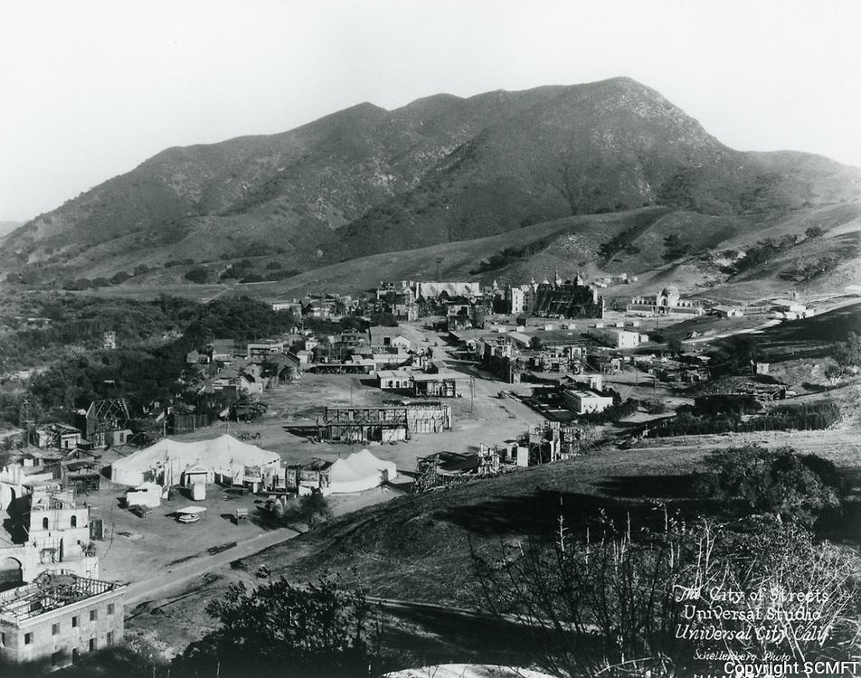 1920 Back lot of Universal Studios