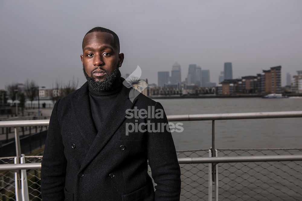 Dumi Oburota, co founder of the independent record label Disturbing London, a entertainment company who manage the music careers of Tinie Tempah, Yungen, Wiz Kid and many more. <br /> Picture by Daniel Hambury/Stella Pictures Ltd 07813022858<br /> 27/01/2017