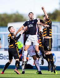 Falkirk's David McCracken.<br /> Falkirk 2 v 1 Alloa Athletic, Scottish Championship game played 4/10/2014 at The Falkirk Stadium.