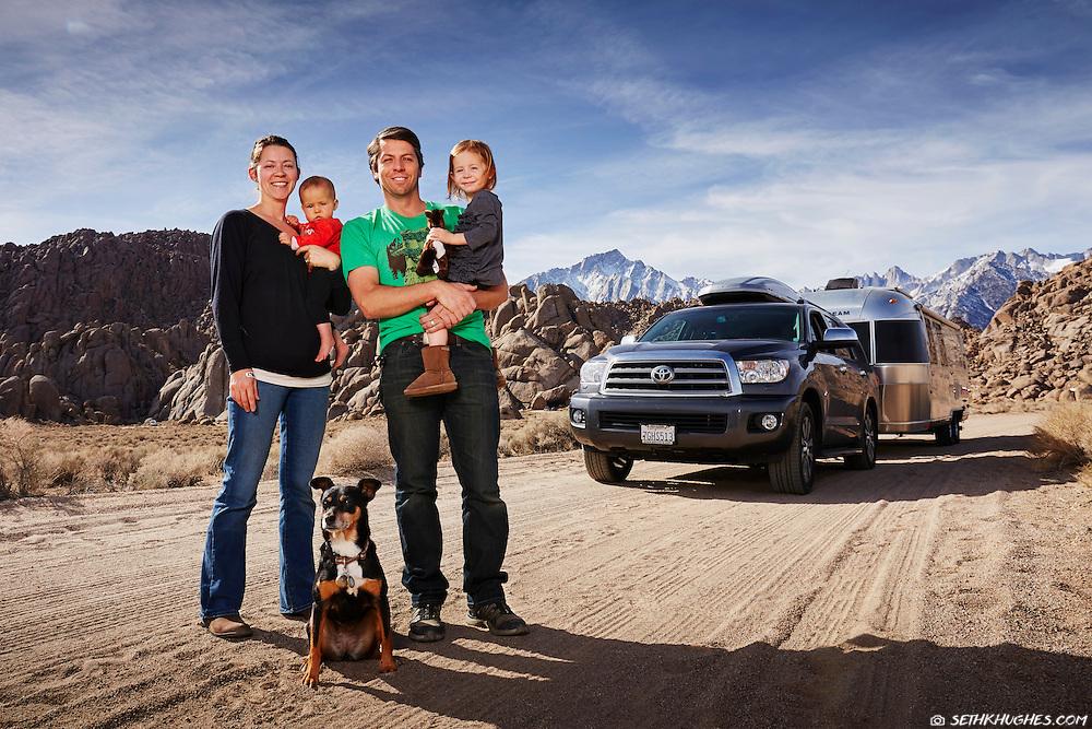 Zimmerman Family, Alabama Hills BLM, California
