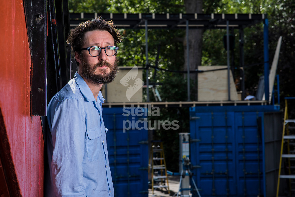 British theatre director Timothy Sheader pictured at Regents Park Open Air Theatre where he is to direct 'A tale of two cities'<br /> Picture by Daniel Hambury/Stella Pictures Ltd 07813022858<br /> 04/07/2017