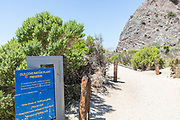 Old Cove Native Plant Preserve Signage