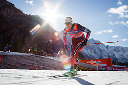 Heidi Weng (NOR) during the ladies team sprint race at FIS Cross Country World Cup Planica 2016, on January 17, 2016 at Planica, Slovenia. Photo by Ziga Zupan / Sportida