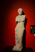 Venus Statue from Lego building blocks at the Holon Children's museum. Holon, Israel