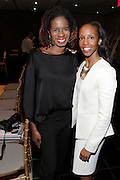 May 10, 2016- New York, NY: United States: (L-R) Tangie Murray, Executive Director, RUSH Philanthropic and Author Sarah Lewis, Guest Editor, Aperture Magazine attend the Aperture Magazine Launch for the Vision & Justice Issue held at the Ford Foundation on May 10, 2016 in New York City.  Aperture, a not-for-profit foundation, connects the photo community and its audiences with the most inspiring work, the sharpest ideas, and with each other—in print, in person, and online. (Terrence Jennings/terrencejennngs.com)