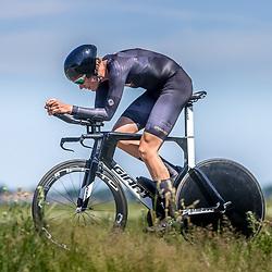 EMMEN (NED) June 16: <br />CYCLING <br />Dutch Nationals Time Trail men U23 Michiel Kok