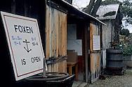 Foxen Winery and Vineyards tasting room, along Foxen Canyon Road, Santa Barbara County, California