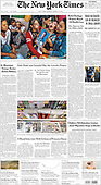 March 09, 2021 (USA): Front-page: Today's Newspapers In United States