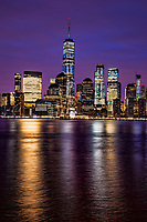 Downtown NYC & Hudson River @ Twilight