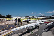 Plovdiv BULGARIA. 2017 FISA. Rowing World U23 Championships. <br /> <br /> Wednesday. PM, general Views, Course, Boat Area<br /> 12:14:18  Wednesday  19.07.17   <br /> <br /> [Mandatory Credit. Peter SPURRIER/Intersport Images].