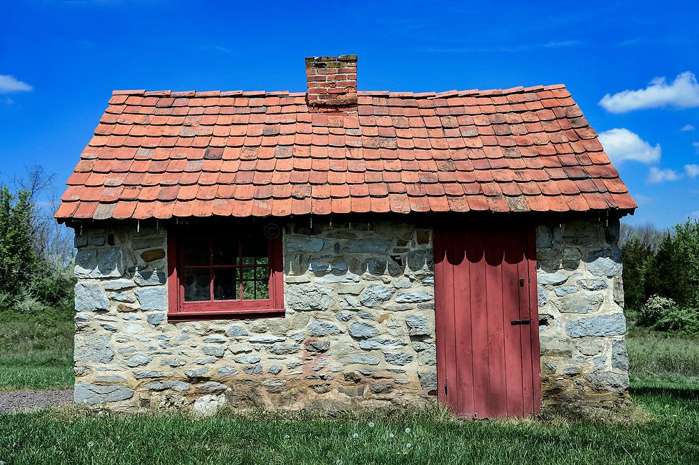 Bertolet Bakehouse, Danial Boone Homestead, Birdsboro, Pennsylvania, USA