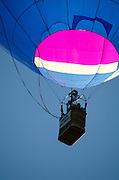 'Aspirations' glowing in the sunlight, Crown of Maine Balloon Fair, Presque Isle, Maine.