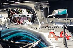 November 9, 2018 - Sao Paolo, Brazil - During the first free practice of the Brazilian GP of F1, which takes place at the Autodromo Jose Carlos Pace  (Credit Image: © Thiago Bernardes/Pacific Press via ZUMA Wire)