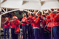 The Voices of Love perform at the Challenge of Carols.  Emanicpation Garden Christmas Card, Inc. presents the 39th Annual Challenge of Carols.  Emancipation Garden.  St. Thomas, USVI.  25 December 2015.  © Aisha-Zakiya Boyd