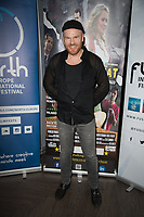 Philip Baldwin at  the Ask the Cheat film screening. Crowne Plaza London Docklands.