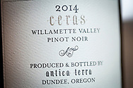 Ceras - Vinodlaren och vinmakaren Maggie Harrison, Antica Terra, Dundee i Oregon, USA