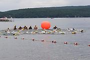 Start of the swim segment of the 2018 Hague Endurance Festival Sprint Triathlon