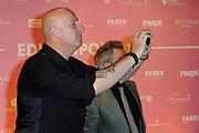 Uitreiking van de Edison POP 2014 awards in de The Harbour Club, Amsterdam<br /> <br /> Op de foto:  BLOF -  Paskal Jakobsen