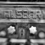 Halsbary - Motor Transport Museum - Campo, CA - Lensbaby - Black & White